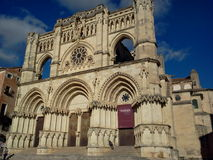 Beautiful Cuenca Cathedral Royalty Free Stock Photo
