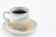 Beautiful cup of coffee. I took a picture, a beautiful cup of coffee Royalty Free Stock Images