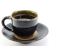 Beautiful cup of coffee. I took a picture, a beautiful cup of coffee Stock Photography