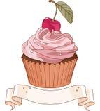Beautiful cupcake stock illustration