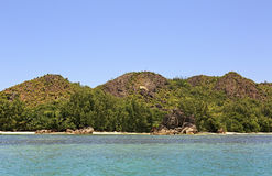 Beautiful Curieuse Island in Indian Ocean. Royalty Free Stock Image