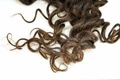 Beautiful Curls Stock Photos