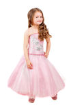 Beautiful curly little girl Royalty Free Stock Photo