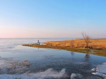Curonian spit in spring, Lithuania Stock Photos