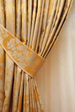 Beautiful curtain stock photography