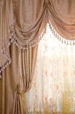 Beautiful curtain Stock Image