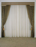 Beautiful curtain background Stock Photography