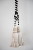 Beautiful of curtain tassel Royalty Free Stock Photography