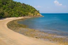 Beautiful curve beach Stock Image
