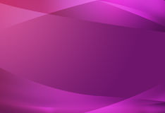 Beautiful curves gradient. On purple background Royalty Free Stock Images