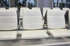 Beautiful cushion skin seat. Beautiful inside airport cushion skin seat Stock Photos