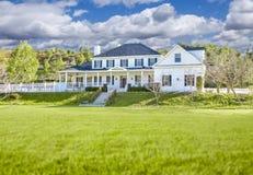 Beautiful Custom Built Home Facade Stock Image