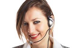 Beautiful Customer Representat Stock Photography