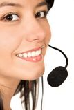 Beautiful Customer Support Girl Stock Photos