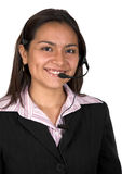 Beautiful Customer Support woman Royalty Free Stock Image