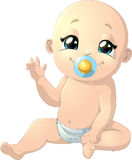 Beautiful cute baby Royalty Free Stock Images