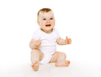 Beautiful cute baby Stock Images