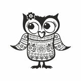 Beautiful and cute owl Royalty Free Stock Photo