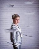 Beautiful cute sailor boy Royalty Free Stock Photography