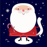 Beautiful cute Santa Royalty Free Stock Photo