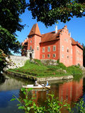 Beautiful czech castle Royalty Free Stock Images