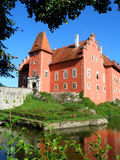 Beautiful czech castle Royalty Free Stock Photography