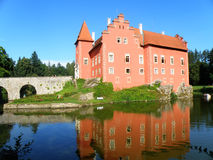 Beautiful czech castle Stock Image