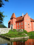 Beautiful czech castle Stock Photography
