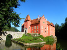 Beautiful czech castle Stock Photos