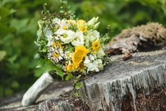 Beautiful Wedding Bouquet Stock Images