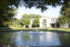 Beautiful Dallas Arboretum. Dallas Arboretum exterior, TX USA Stock Photography