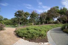 Beautiful Dallas Arboretum. Interior of city Dallas Arboretum, TX USA Stock Photo