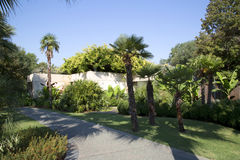 Beautiful Dallas Arboretum. TX USA Royalty Free Stock Photo