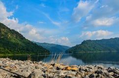 Beautiful Dam Royalty Free Stock Image