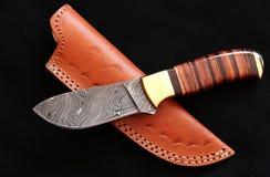Beautiful damask knife Royalty Free Stock Photos
