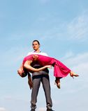 Beautiful dance Royalty Free Stock Photos