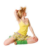 Beautiful dancer Stock Photography
