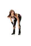 Beautiful  dancer  Royalty Free Stock Image