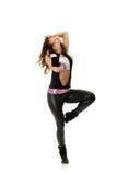 Beautiful  dancer  Royalty Free Stock Images
