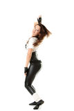 Beautiful  dancer Stock Images