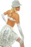 Beautiful dancer Stock Photos