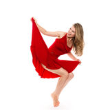Beautiful dancer Stock Images