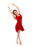 Beautiful dancer Stock Photo