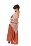 Beautiful dancer dancing belly dance. Stock Images