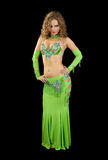 Beautiful  dancer in eastern  costume Stock Images