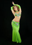 Beautiful  dancer in eastern  costume Stock Photo