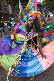 Beautiful dancer at the Notting Hill Carnival Stock Photo