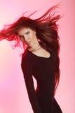 Beautiful dancer woman Stock Images
