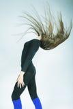Beautiful dancer woman Royalty Free Stock Photo