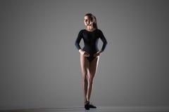 Beautiful dancer woman royalty free stock image